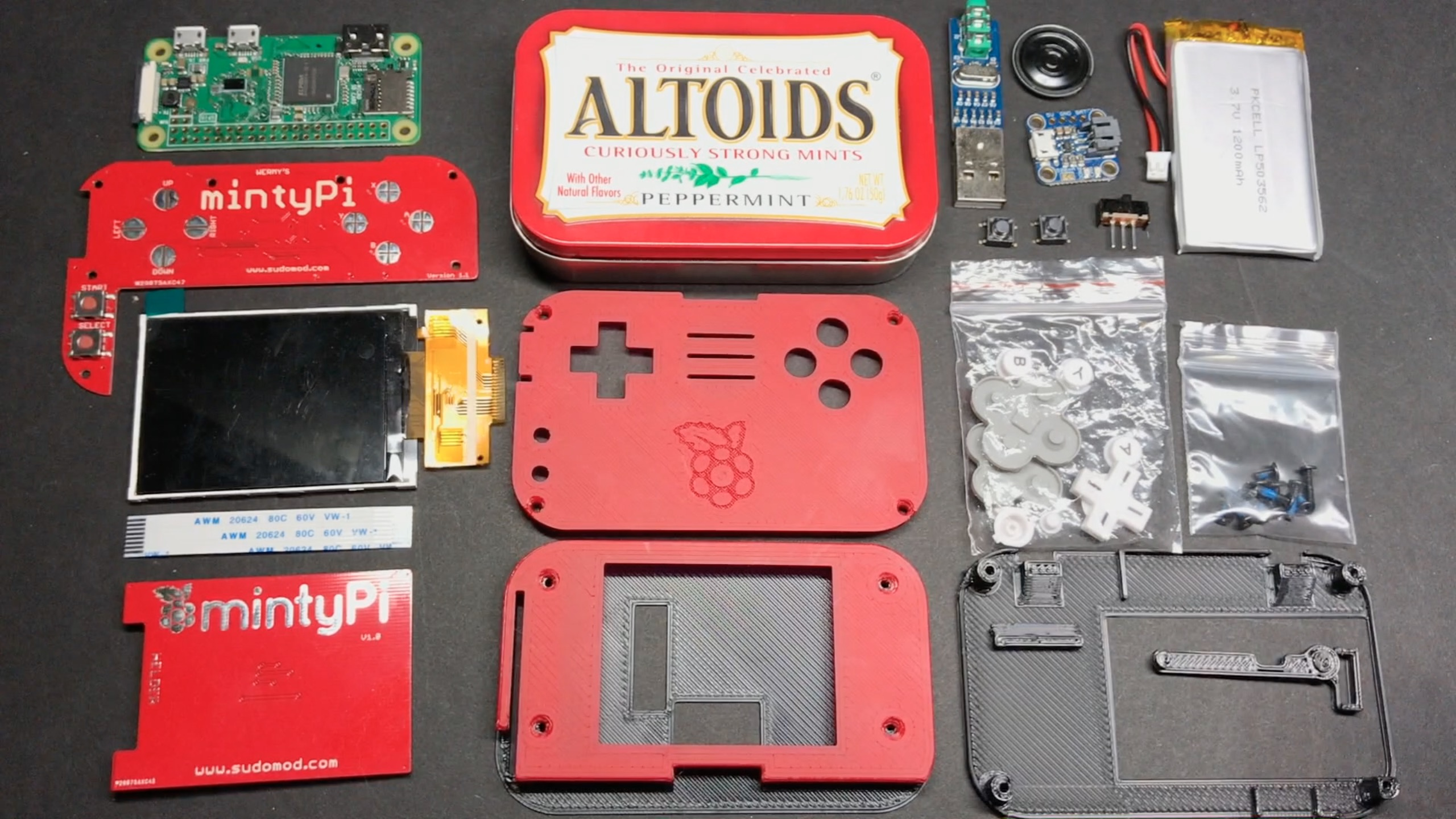 Mintypi Custom Parts Build Guide Sudomod Building Wiring Games This Will Cover The There Be A Followup Soon Showing How To Do 22 Using Hand Made Button Pcb And Cheap